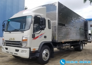 Xe tải Jac N650.Plus – 6.4 Tấn – 6T4 – 6 Tấn 4 – Thùng Kín 6M2
