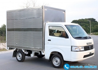 Xe tải Suzuki 700kG – Thùng Mui Kín