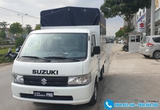 Xe tải Suzuki Pro 810kG - Thùng Bạt 2M7
