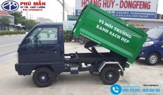 Xe tải Suzuki 550kg Đóng Thùng Chở Rác